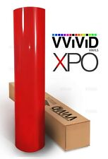 Vvivid Xpo Blood red gloss vinyl car wrap decal