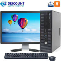 "HP Desktop Computer PC | Core i5 16GB 2TB 512GB SSD 22"" LCD 