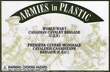Armies in Plastic WWI Canadian Cavalry Brigade (C.E.F.) 1/32 Scale 54mm