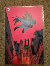 Rare New 52 Batman Lithograph signed by Greg Capullo and Scott Snyder.