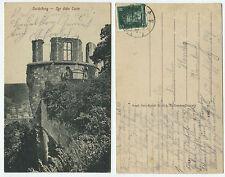 36751 - Heidelberg - Der dicke Turm - Ansichtskarte, gelaufen 8.8.1928