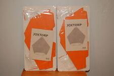 "2 x Ikea Pendant Lamp Shade Orange 11"" Joxtorp 002.792.62 NEW"