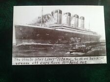 Picture Postcard RMS Titanic 90th Anniversary 1912-2002 no.41 reproduction