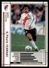 Panini/Sega (Japan) WCCF (2006-2007) Paulo Ferrari (CA River Plate) No. 19