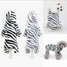 Leopard  Warm Pet clothes Cotton Coat Jacket Soft Fleece Puppy Hoodie Clothes