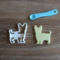 Yorkie Yorkshire terrier Cookie Cutter Dog Pup Pet Treat puppy Pupcake topper