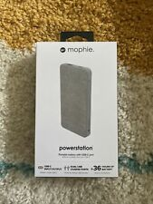 New listing mophie Powerstation Portable 10,000 mAh Battery Bank With Usb C Port - Gray