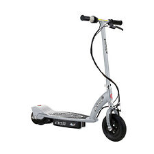 Razor E100 Kids Motorized 24 Volt Electric Powered Ride-On Scooter, Silver