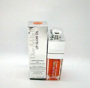 Christian Dior Addict Lip Glow Oil Cherry Oil Infused ~ 004  Coral ~ 0.20 oz