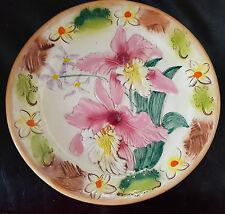 Vintage Kani of Hawaii Hibiscus Pottery Plate