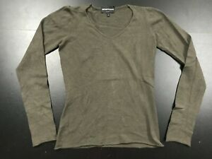 EMPORIO ARMANI BASE LAYER LS CLAY COLOR SLIM FIT SWEATER SHIRT SIZE: SMALL (42)