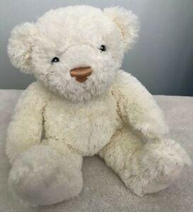 "Gund Cream Teddy Bear Mattie 046861 Soft Plush Stuffed Animal Toy 10"""