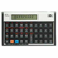 Hewlett Packard HP 12C Platinum Financial Calculator