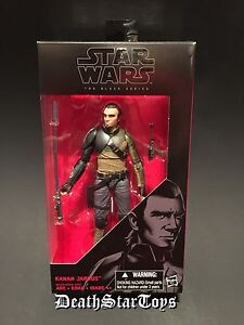 "Star Wars The Black Series 6"" Rebels 19 Kanan Jarrus Jedi Knight Master Ezra TFA"