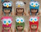 Wholesale Lot 10 Knit Cotton Newborn Baby Child Tassel Owls Hat Photo Prop Hats