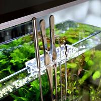 Stainless Steel Aquarium Tools Aquascaping Tank Aquatic Plant Tweezers  /- π