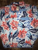 Patagonia Synchilla Snap T Pullover Floral Hawaiian Spring 2015 Womens Size S