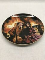 The Burning Of Atlanta Gone With The Wind Collectors Plate 1988
