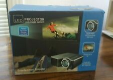 "60"" LCD Image System LED Projector DVD Pictures BNIB Family Movie Night"