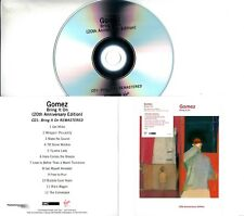 GOMEZ Bring It On 20th Anniversary Edition 2018 UK promo 4xCD set +press release