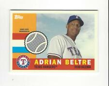 2013 Topps Heritage Clubhouse Collection Adrian Beltre JERSEY Rangers