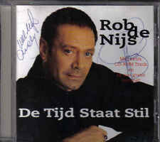Rob de Nijs-De Tijd Staat Stil cd maxi single Gesigneerd