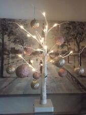 PreLit Silver Birch Tree LED Lights Lamp Night Light Festive Xmas Christmas Tree