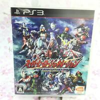 USED PS3 Super Hero Generation Kamen Rider Gundam Ultraman 45366 Japan Import