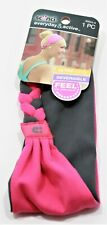 Headwrap SCUNCI Everyday and Active Ultra comply Reversible Stretch . Pink/Gray