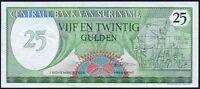 1985 Suriname 25 Gulden Banknote * gEF * P-127b *