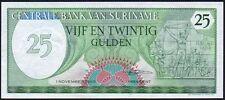 1985 SURINAME 25 GULDEN BANKNOTE * 0442542033 * gEF * P-127b *