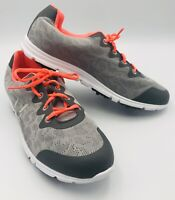 FootJoy Womens Enjoy Womens 9.5M Gray Mist/Pink Spikeless Golf Shoes 95703 EUC