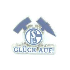 FC Schalke 04 Pin Glück auf! Logo Anstecker Fussball Bundesliga #727