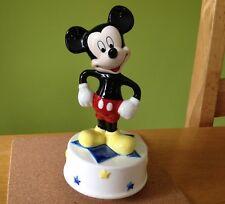 Mickey Mouse Music Box Plays Club March Disney Ceramic by Schmid Sri Lanka