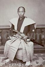 Samurai Ueno Hikona Nagasaki 19thc Classic Reprint Photo 6x4 Inch Japanese
