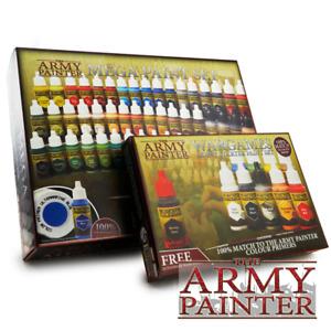 The Army Painter - Warpaints Paint Sets - Metallics, Starter Paint, Hobby Set