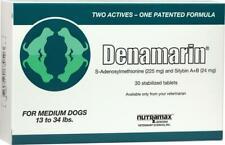 Nutramax Denamarin Medium Dogs 13 to 34 Lbs 30 Stabilized Tablets