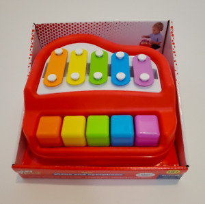 Play Right 2 in 1 Kids Piano and Xylophone Baby Musical Toy (Made Without BPA)