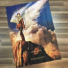 """The Hunger Games Catching Fire Movie Promo Wall Hang Flag Banner Dorm 29""""x 41"""""""