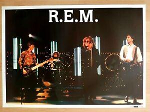 R.E.M . Authentic 1980's Vintage Poster