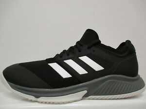 "adidas Court Team Bounce Mens Squash Trainers UK 9 US 9.5 EUR 43.1/3 Ref 1447"""