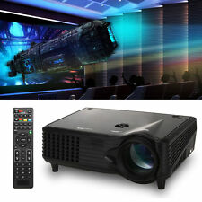 2000 Lumens Full HD 1080P LED LCD 3D VGA TV Home Theater Projector Cinema Y US