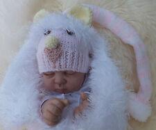 KNITTING PATTERN TO MAKE *BUNDLES OF JOY* 6 COCOON & HATS IN 3 SIZES BABY/REBORN