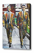 The Krays Limited Edition Hand Embellished Canvas Art Print By Patrick J Killian
