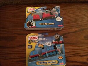Talking Gordon & James for the Die-Cast Thomas and Friends Take-n-Play NEW!