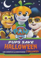 PAW Patrol - Pups Save Halloween (Bilingual) New DVD