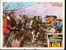 VENGEANCE VALLEY lobby card BURT LANCASTER/ROBERT WALKER orig 11x14 movie poster