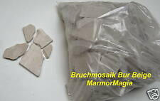 Travertin Marmor Antikmarmor Bruch Lose Palladiana Bruchstein Sackware Poligonal