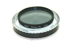 Hoya 58mm Pl Filtro Polarizador Y Hoya Funda. sin Rayones).