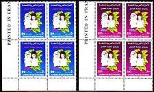 UAE 1990 ** Mi.297/98 Bl/4 Kinderfestival | Child Festival | Kinder | Children